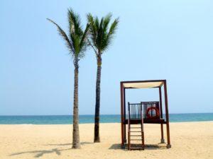 Пляж южно-китайского моря