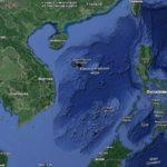 Южно-Китайское море на карте