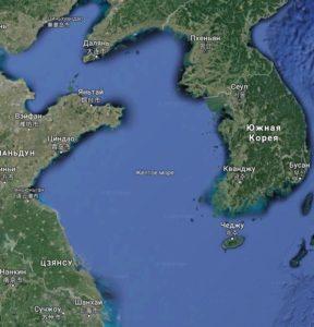 Жёлтое море