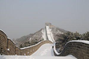 Китай зимой