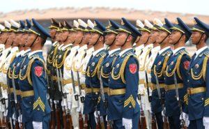 Китайские военные2