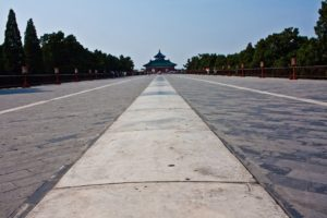 Дорога к храму неба