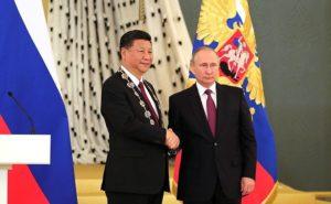 Си Цзиньпин и ВВ Путин