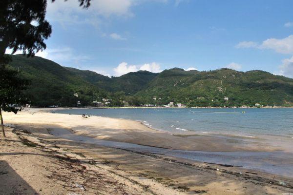 Лантау пляж