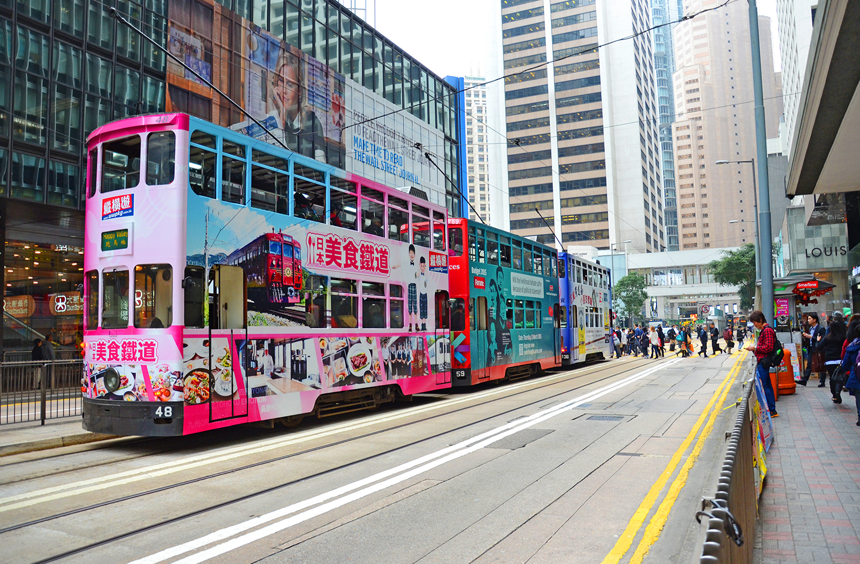транспорт в городе Гонконге