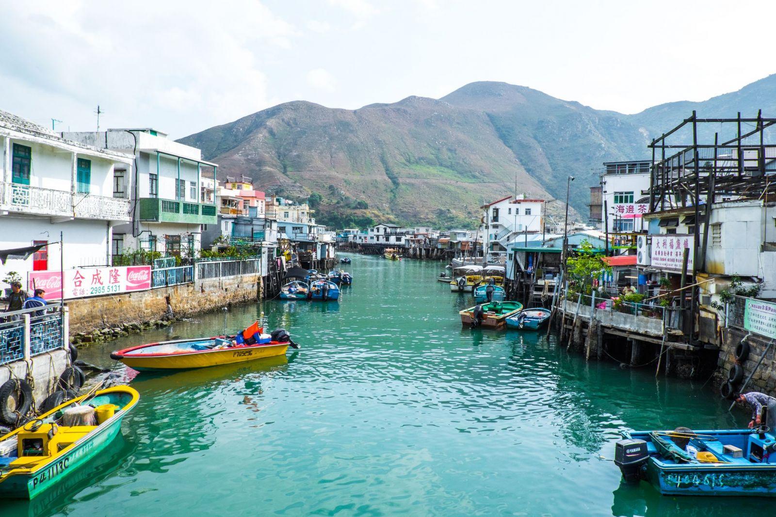 деревня рыболовов Тай