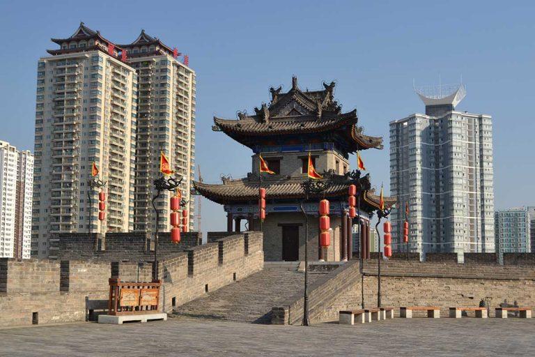 Небоскребы и достопримечательности Пекина