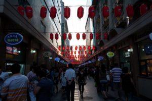 Улица Биньцзян Дао