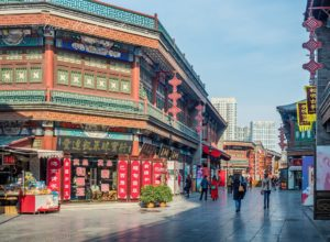 древняя улица Тяньцзинь