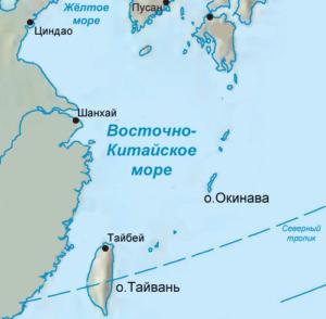 Тайбэй на карте