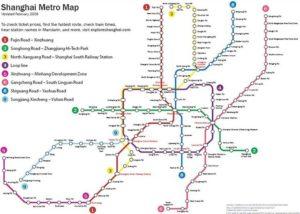 метро Шанхая