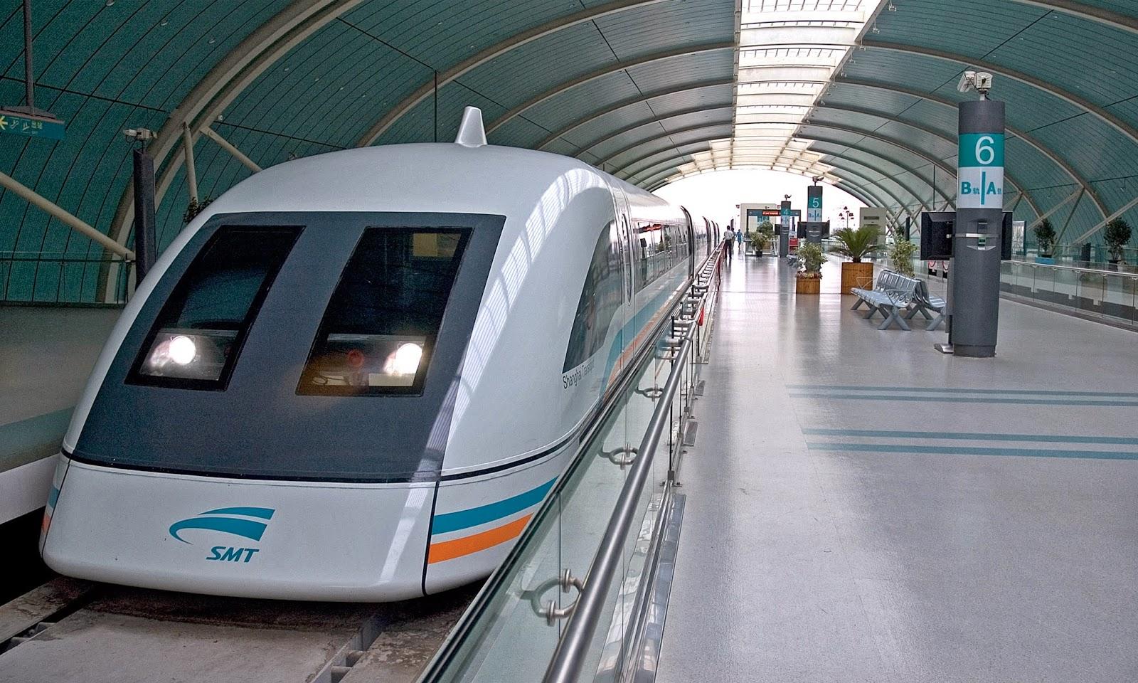 Транспорт в Шанхае